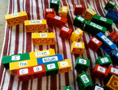lego educational blocks