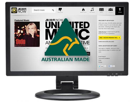 Australian made websites