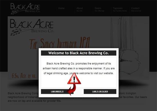 black acre brewing easter egg