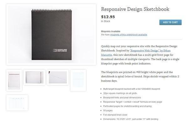 Responsive Sketchbook