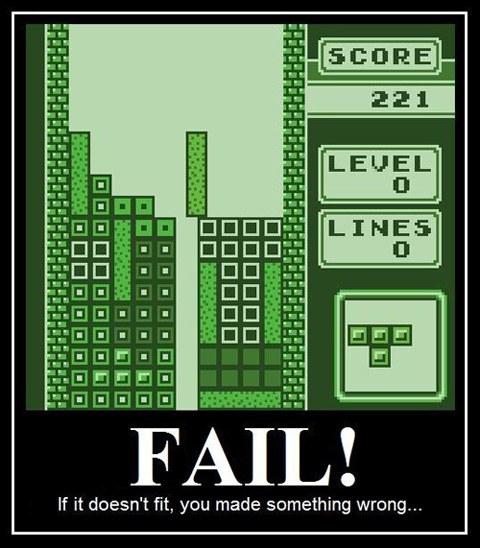 demotivational poster tetris