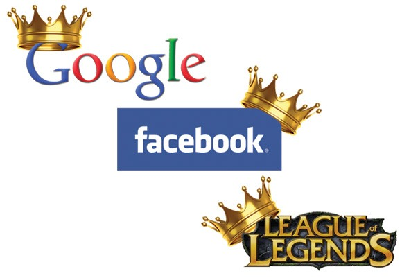 google facebook league of legends kings