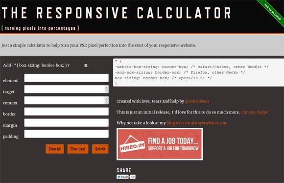 rwd calculator