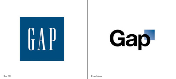gap logo old new