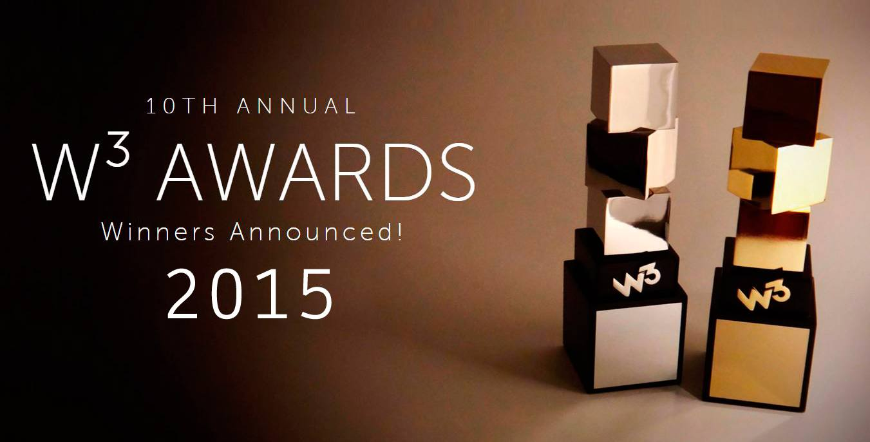 W3 Awards 2015