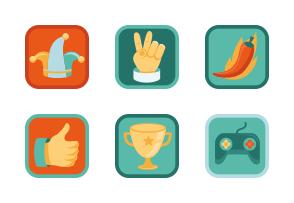 flat-community-and-achievement-badges