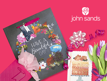 John Sands Cards and Gift Bags