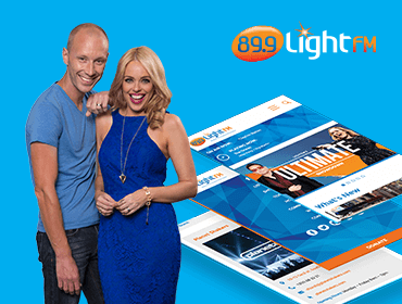 Light FM Presenters and Website Presentation
