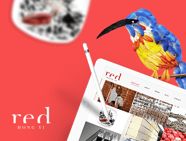 Red Hong Yi Artwork and Website