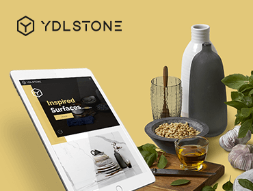YDL Stone Website on Tablet