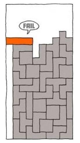 Tetris Fail