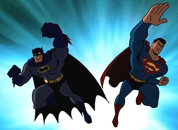 Batman Superman TV Series Characters