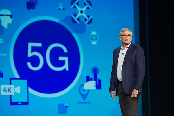 5G presentation with Qualcomm CEO